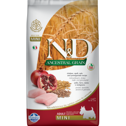 N&D ancestral grain canine...