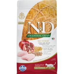 N&D ancestral grain feline...