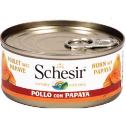 Schesir poulet avec papaye
