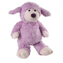 Peluche warmies mouton lila