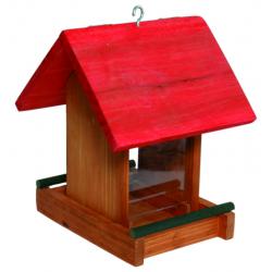 Maisonnette max brun/rouge