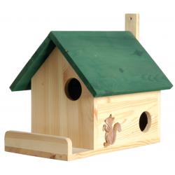Maisonnette pour écureuils